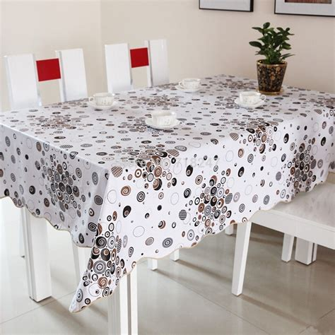 plastic dining table cover reviews shopping
