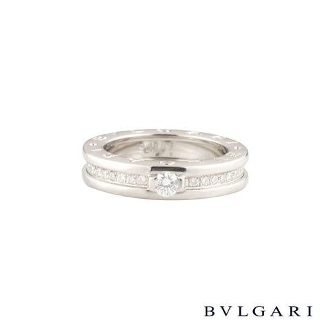 Bvlg White Set bvlgari white gold b zero1 ring size 50 an852397 rich diamonds of bond