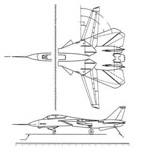 fuselage station diagram of an f 14 aircraft