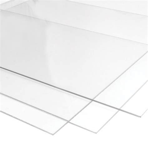 Acrylic Sheets a4 clear perspex acrylic sheet 3mm 2mm thick 210x148mm