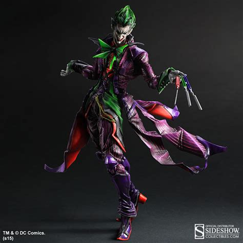 figure joker dc comics the joker collectible figure by square enix