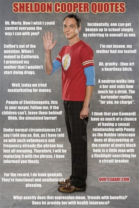 the big theory quotes sheldon cooper