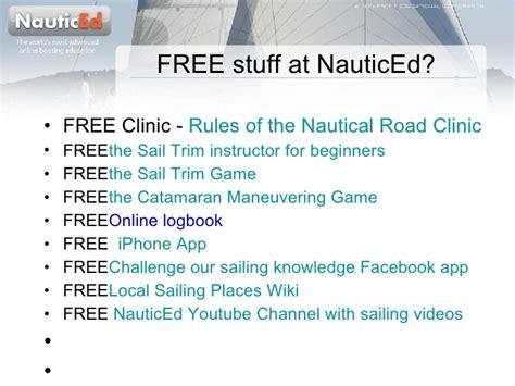 nauticed catamaran game nauticed online sailing school a tour of the sailing