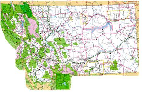 map of montana billyland lewiston montana
