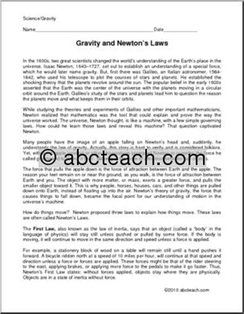 isaac newton biography for middle school biography isaac newton middle high school abcteach
