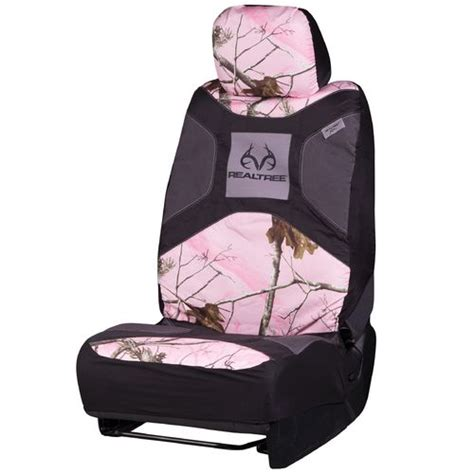 pink mossy oak bench seat covers browning mossy oak infinity 174 pink universal seat cover