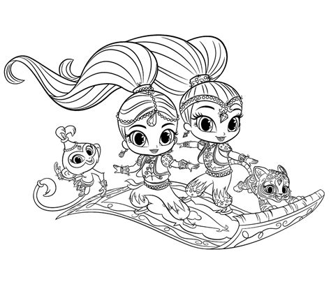 Galerry coloring pages of shopkins