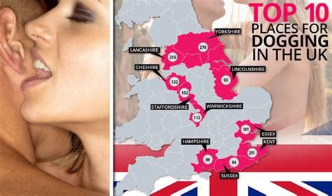 swinging hot spot are people dogging in your town shock as britain s