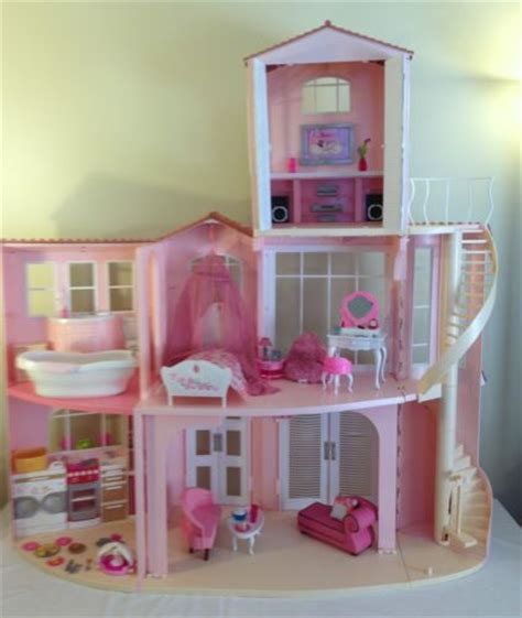 a doll s house story 2006 mattel barbie 3 story dream doll house 3rd floor