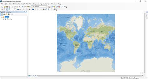 cara membuat layout di arcgis 10 1 membuat peta dengan arcgis basemap info geospasial