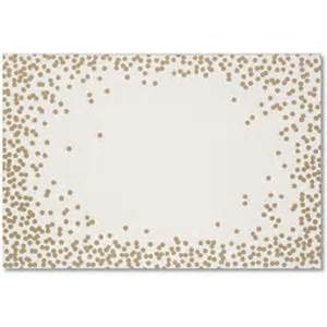 27 gold confetti paper placemats 26 party on cue the confetti a