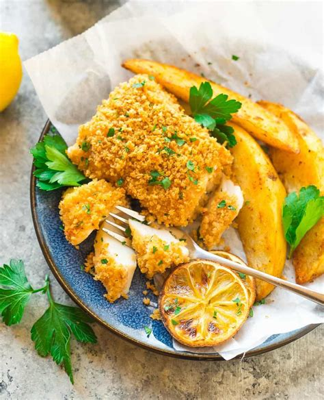 deep south dish baked fish baked fish and chips recipe well plated by erin