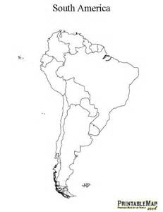 printable map of south america continent map of south