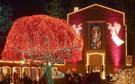 golocalpdx the grotto s annual christmas festival opens