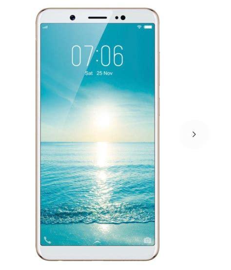 Vivo V7 Smartphone Gold 32gb 4gb Gransi Resmi Vivo vivo gold v7 32gb 4gb ram 32gb mobile phones at low prices snapdeal india