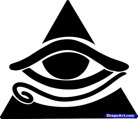 how to a seeing eye how to draw all seeing eye all seeing eye step by step symbols pop culture free