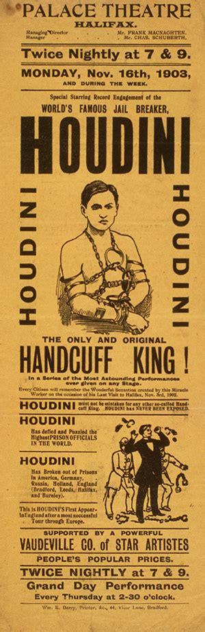 Harry Houdini Also Search For Top 10 Harry Houdini Collectibles