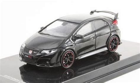 Tarmac Honda Civic Typer Fk Grey tarmac works 1 64 honda civic type r fk2 black pearl
