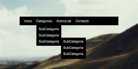tutorial html y css en español como hacer un men 250 desplegable con html y css falconmasters