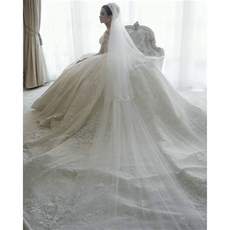 Plus Size Lace Wedding Dresses With Cathedral by Luxury Winter Gown Wedding Dresses 2016