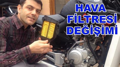 hava filtresi degisimi yamaha ybr  esd kendin yap