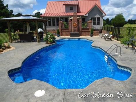 pool blue color tech color finishes tallman pools