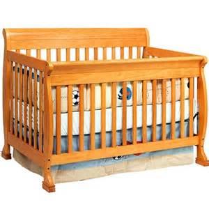 Oak Baby Cribs Baby Mod Cadence 4 In 1 Convertible Crib Honey Oak Walmart