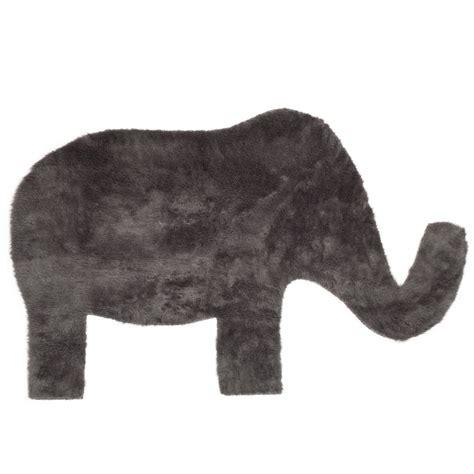 teppich elefant teppich elefant dunkelgrau pilepoil design