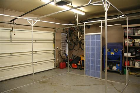 collapsible paint booth gordsgarage