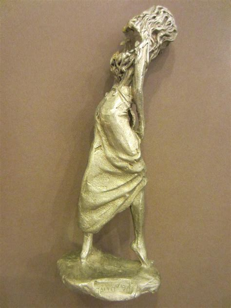 gallo 97 pewter figurine signed for sale antiques com