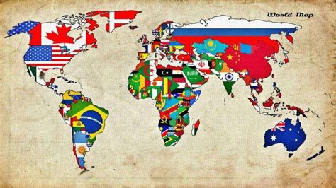 flags of the world desktop wallpaper map world countries flag wallpapers hd desktop and