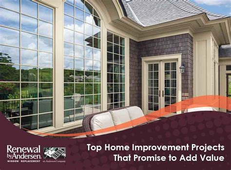 top home improvement projects that promise to add value