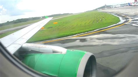 citilink landing citilink indonesia pk gli descend and landing at sams