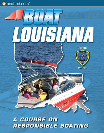 boating license la louisiana s official boating safety course and online
