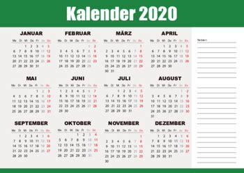 kalender  gruen  vorlage zum ausdrucken