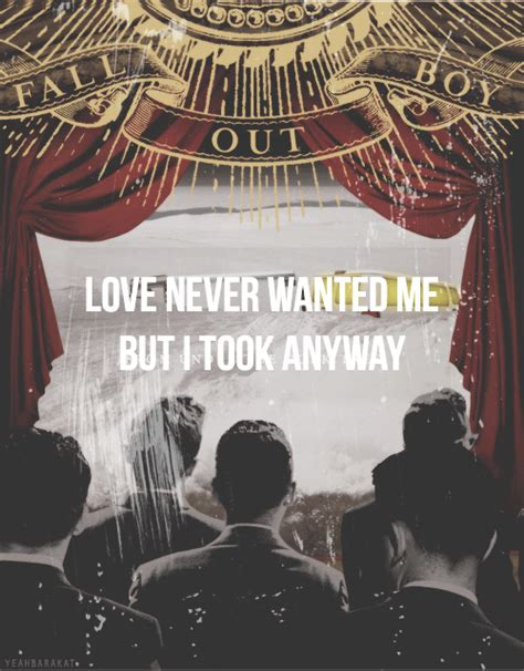 xo fall out boy love never wanted me image 1199991 by robish on favim com