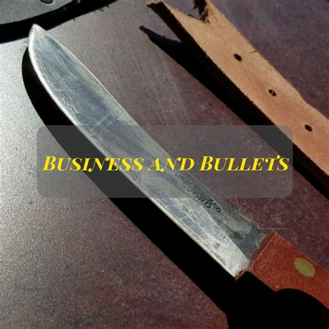 how to sharpen a knife without a knife sharpener how to keep a knife sharp without sharpening business and bullets
