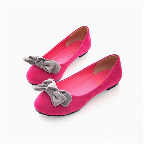 pretty flats shoes pretty bows flat with shallow shoes