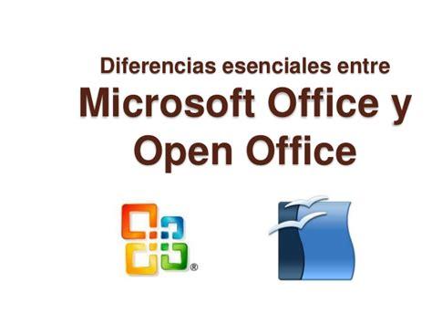 imagenes y mas microsoft office difer 232 ncies entre microsoft office i open office b