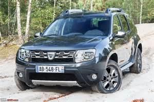 Renault Dacia Duster 2014 Dacia Duster Facelift Revealed Team Bhp