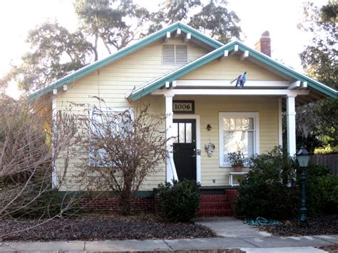 1920s Craftsman Home Design craftsman style bungalow yellow house 1920s exterior