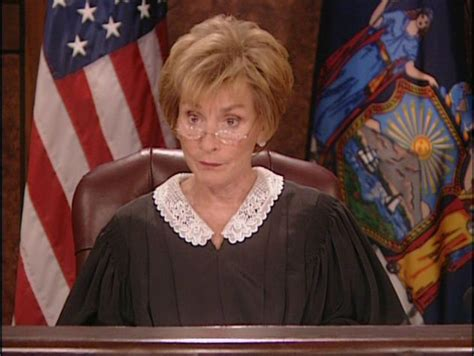 judy bench judge judy judith sheindlin above the law