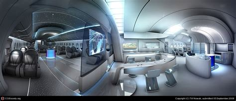 aircraft interior design by till nowak 3d cgsociety