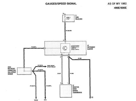 28 speed sensor wiring diagram vehicle speed sensor