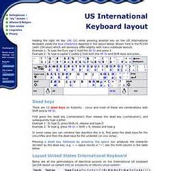 layout keyboard us international resources pearltrees