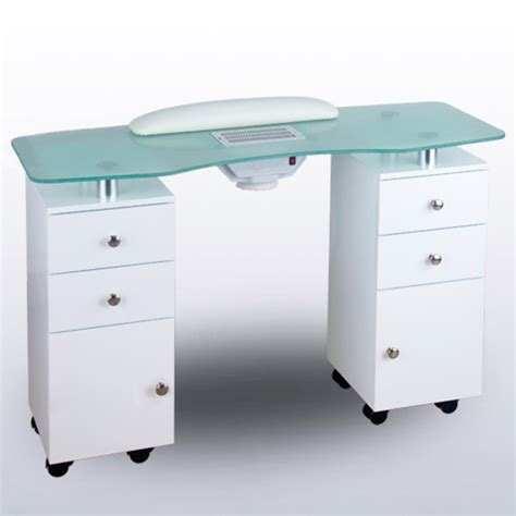 nail table l for sale manicure table with fan