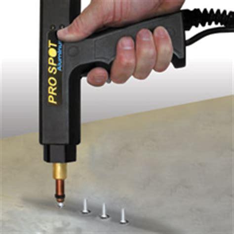 capacitor discharge welding aluminum al 5 aluminum dent pulling system pro spot