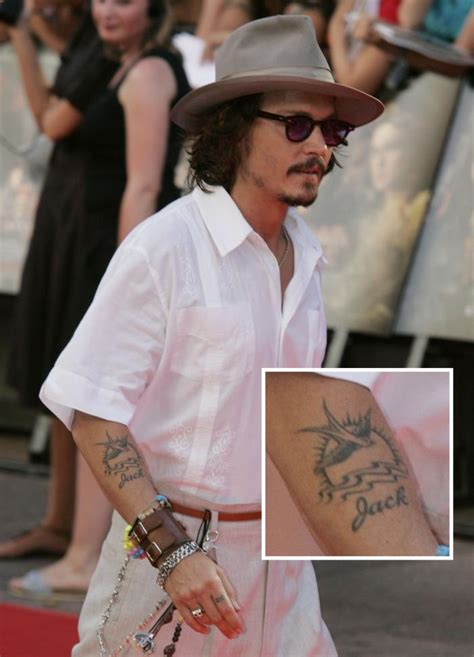 quantas tattoos johnny depp tem saddam tattoo studio