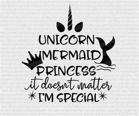 printable unicorn sayings mermaid svg unicorn svg mermaid sayings mermaid words