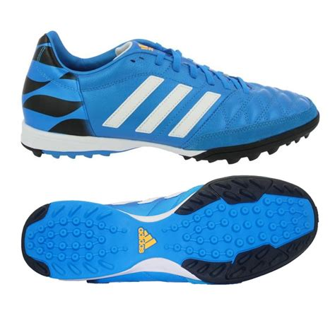 turf shoes adidas 11 tf turf soccer shoe solar blue black white